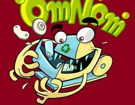 artinearth tarafından Looking for an illustrative or cartoonish style logo For the name OmNom. için no 39