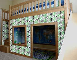 "LiDieu tarafından I need some Graphic Design for exterior ""skin"" graphic for kids playhouse için no 46"