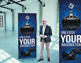KreativeLancer tarafından Design a VR Roll-UP Display for an exhibition için no 46