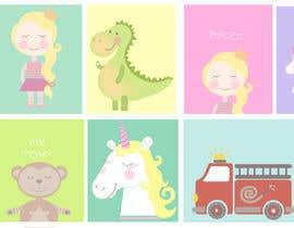 #116 untuk Supercute kids illustrations oleh emmanuelaroxana