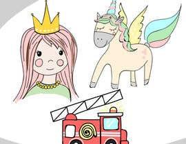 #21 untuk Supercute kids illustrations oleh grafisk