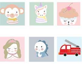#79 untuk Supercute kids illustrations oleh GeriAloha
