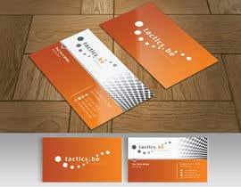 #88 for Design Business Cards for Tactics bvba af webixbd