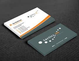 #85 for Design Business Cards for Tactics bvba af mamun313