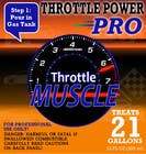 Contest Entry #5 for Print & Packaging Design for Throttle Muscle