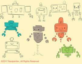 Navipainter tarafından I need a robot sketch (pencil or digital) için no 73
