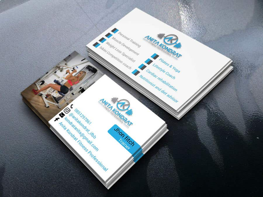 Entry #151 by Mohsin31581 for Design my fitness business card ...