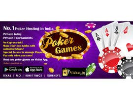 #14 for Design banner for poker hosting in india by sudhalottos