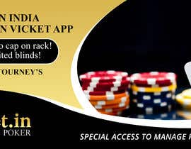 #5 for Design banner for poker hosting in india by maidang34