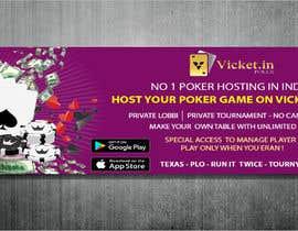 #15 for Design banner for poker hosting in india by mhohamodakash
