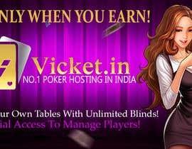 #3 for Design banner for poker hosting in india by Jasveer7777