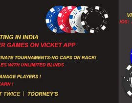 #22 for Design banner for poker hosting in india by rouf700306