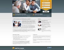 #147 для Website Design for LookforLawyer.com от faflok