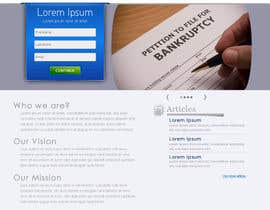 Ibrahimzee tarafından Website Design for LookforLawyer.com için no 169