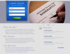 Ibrahimzee tarafından Website Design for LookforLawyer.com için no 156