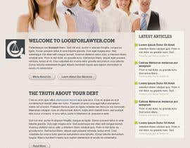 #74 для Website Design for LookforLawyer.com от dmoldesign