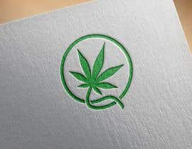#6 cho Design a Logo with a green circle and  a cannabis plant bởi hayrollsteven