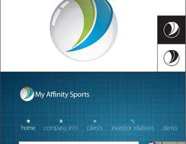#86 para Logo Design for My Affinity Sports por jimapp