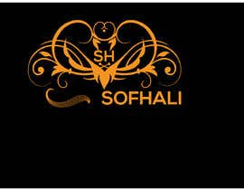 nº 35 pour brand is SofHali please use the S H as capital letter. In the second line unter the SofHali i want shukran shukran is the meaning of thank you and wirtten in arabic letters. The design in elegant in black and whit in vector par khan91212
