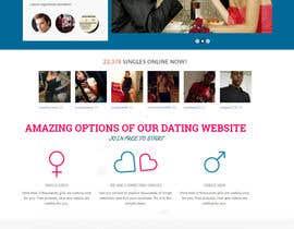 lassoarts tarafından dating portal landing page (2 different page) için no 2