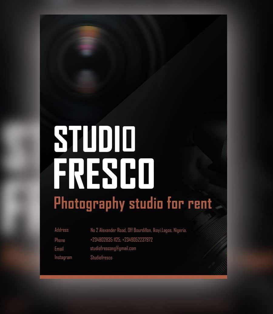 "A photography studio for rent called ""Studio Fresco"", The"