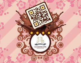 #52 untuk QR Code Design for our Chocolate Factory oleh MaxDesigner