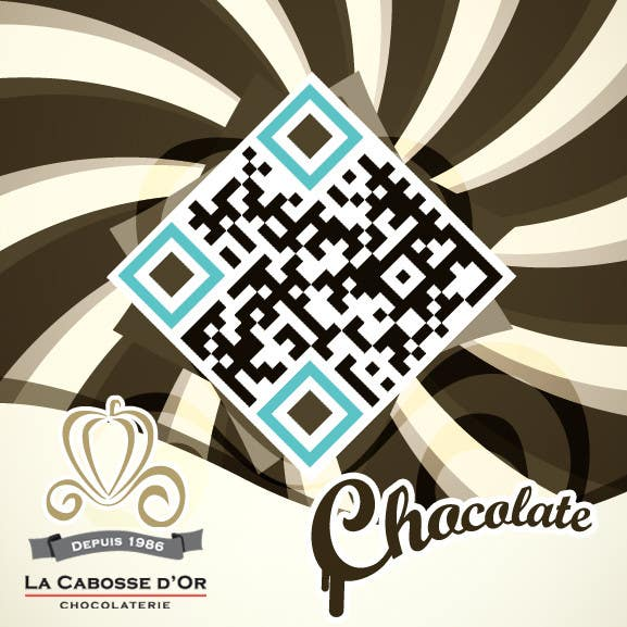 Proposition n°49 du concours QR Code Design for our Chocolate Factory