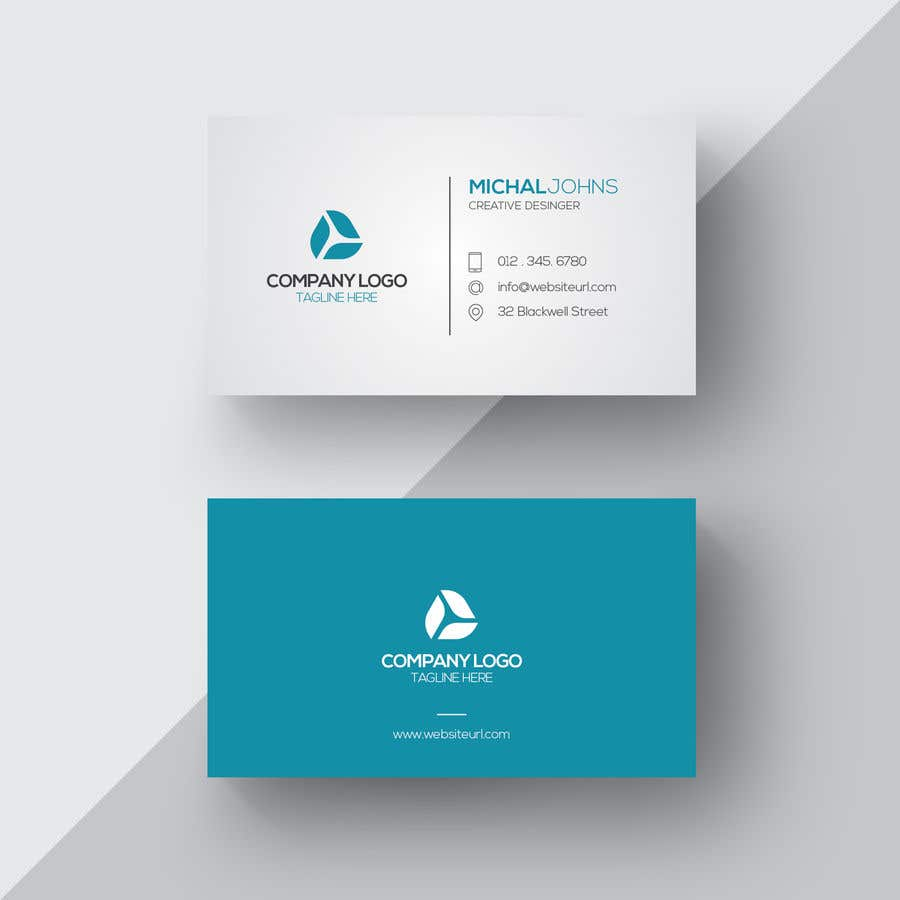 entry 5 by abubakarah for design business card and letter headed