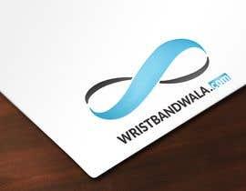 #8 untuk Design A Logo for a Silicone Wrist Band Company.... Wristbandwala.com oleh Ercmax