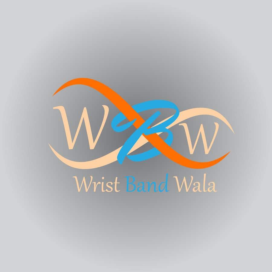 Penyertaan Peraduan #32 untuk Design A Logo for a Silicone Wrist Band Company.... Wristbandwala.com