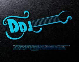DesignPedia1 tarafından A logo with 3 initials encompassing DDJ,  That feels sexy and rock n roll.  I am thinking something that looks unique on its own, so doesnt look like anyone could make it.   Really open to interpretation and ingenious creative arts of simplicity için no 39