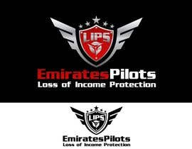 #125 для Logo Design for Emirates Pilots Loss of Income Protection (LIPS) от jummachangezi