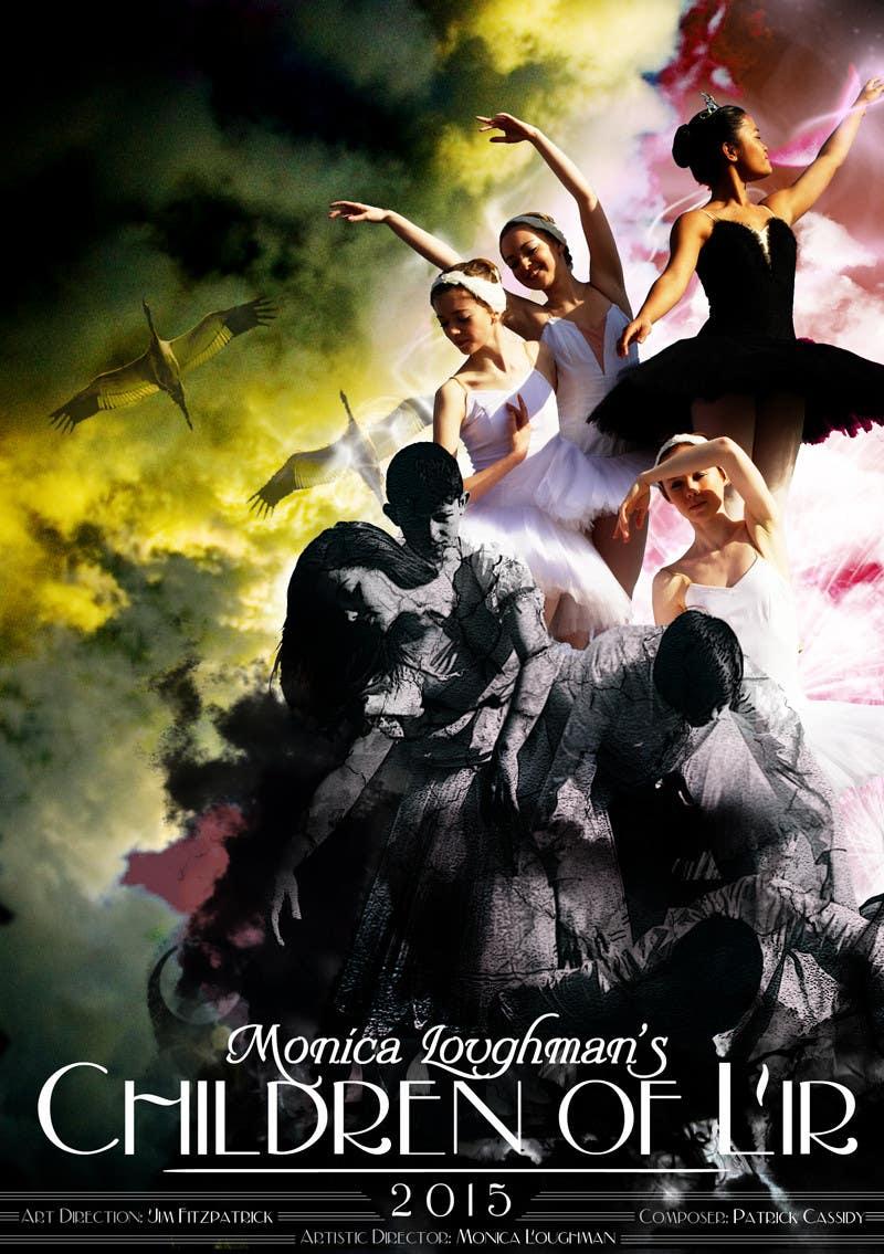 Proposition n°                                        47                                      du concours                                         Graphic Design for  A new main-scale ballet production