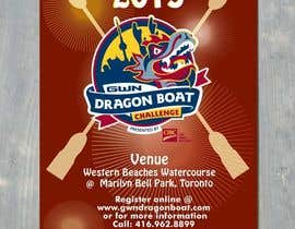 #16 for Flyer Design for Major League Dragon Boat events af itm2008