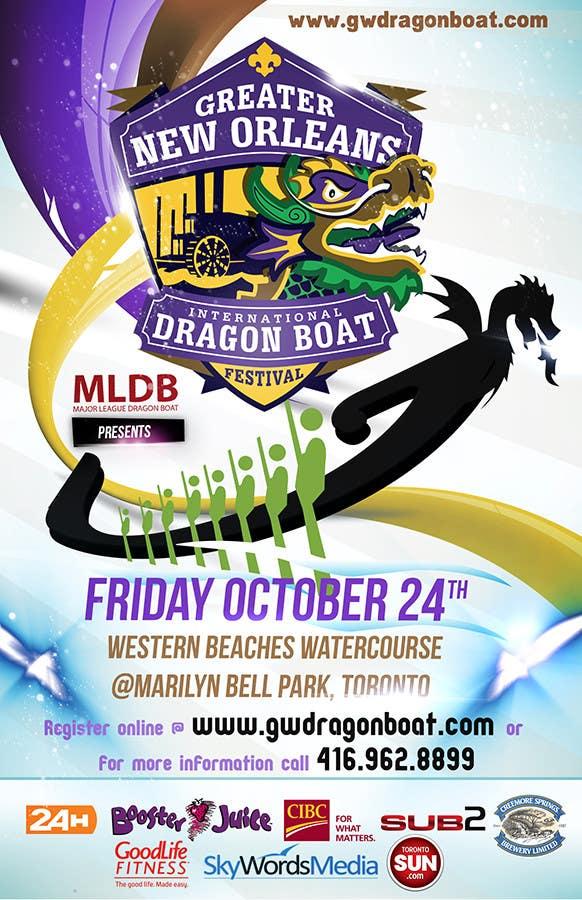 Конкурсная заявка №12 для Flyer Design for Major League Dragon Boat events