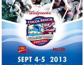 #15 for Flyer Design for Major League Dragon Boat events af wedesignvw