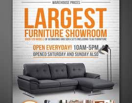 Nro 12 kilpailuun Design of a newspaper Advert for Furniture Business - 2 x 6 month contract käyttäjältä elgu