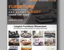 Nro 19 kilpailuun Design of a newspaper Advert for Furniture Business - 2 x 6 month contract käyttäjältä hmfaisal004