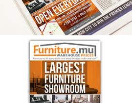 Nro 9 kilpailuun Design of a newspaper Advert for Furniture Business - 2 x 6 month contract käyttäjältä paufreelancerph
