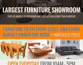Nro 14 kilpailuun Design of a newspaper Advert for Furniture Business - 2 x 6 month contract käyttäjältä mondaluttam