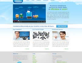 #27 for Wordpress Theme Design for Cloud-Phone Inc. af shinedesign