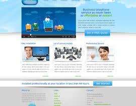 #26 para Wordpress Theme Design for Cloud-Phone Inc. por shinedesign