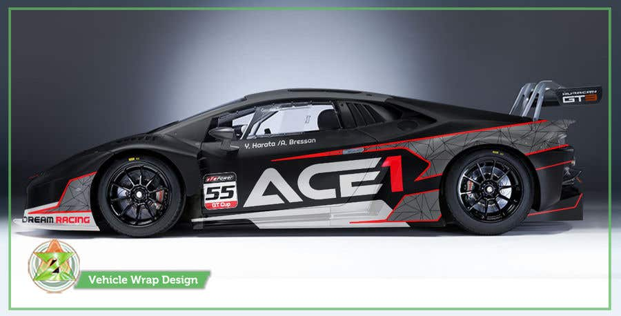Entry #86 by Azhoeck for Design a race car livery | Freelancer