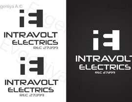 #422 for Design a Logo for INTRAVOLT ELECTRICS af EvgeniyaEVA