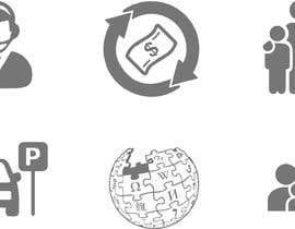 Nro 5 kilpailuun Design 60 icons käyttäjältä javiermc66