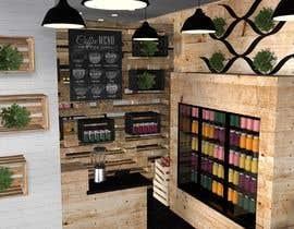 #30 for Fresh Juice shop Design . 3D Modeling by farkasbenj