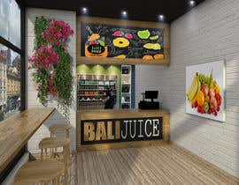 #28 for Fresh Juice shop Design . 3D Modeling by carlosbejarano