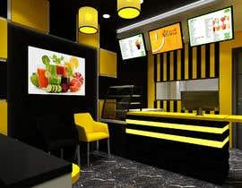 #10 for Fresh Juice shop Design . 3D Modeling by alvinbacani