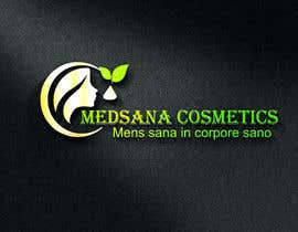 "#6 for logo for my business. Its about natural home-made cosmetics (cremes, soaps etc) witch are also terapeutical. The name is ""medsana cosmetics"". slogan is ""mens sana in corpore sano"" . Maybe a woman shape from the side holding something like a chamomile by GripichDesigner"