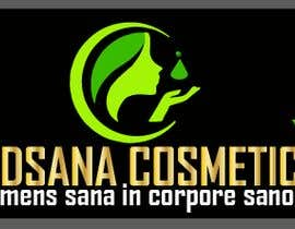 "#12 for logo for my business. Its about natural home-made cosmetics (cremes, soaps etc) witch are also terapeutical. The name is ""medsana cosmetics"". slogan is ""mens sana in corpore sano"" . Maybe a woman shape from the side holding something like a chamomile by GripichDesigner"